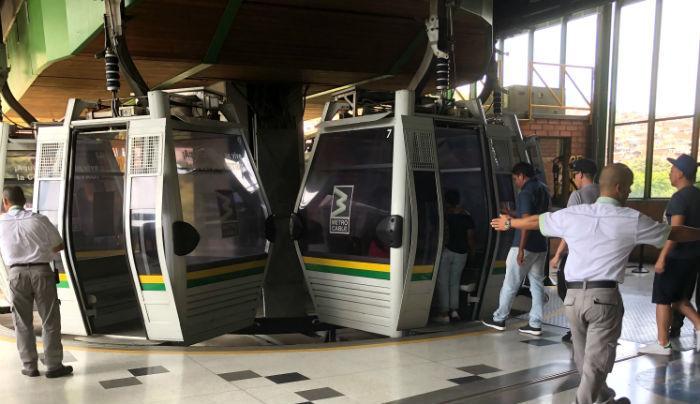 Medellin Metro Cable