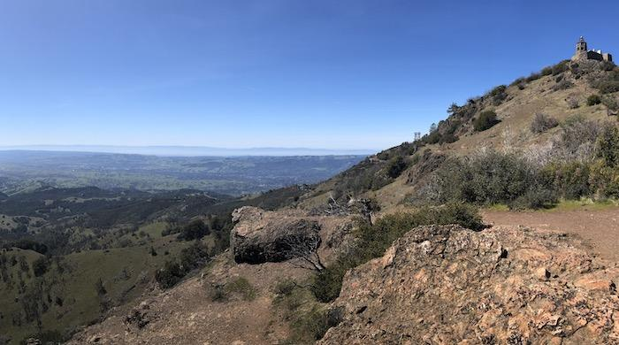 Bay Area Hikes: View From Mary Bowerman Trail
